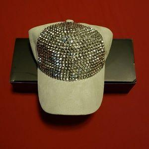 Womens bedazzled cap